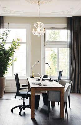werkkamer: moderne Studeerkamer/kantoor door choc studio interieur