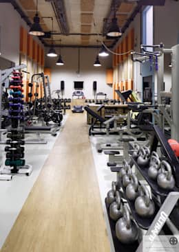 eclectic Gym by homify
