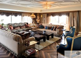 classic Living room by homify