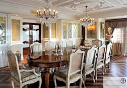classic Dining room by homify
