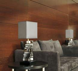 Salas de estilo moderno por FB Internacional