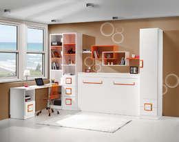 Recámaras de estilo moderno por muebles dalmi decoracion s l