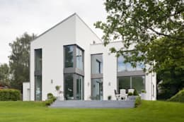 Projekty, nowoczesne Domy zaprojektowane przez Beck+Blüm-Beck Architekten