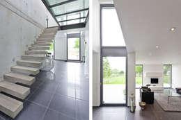 Projekty,  Korytarz, przedpokój zaprojektowane przez Beck+Blüm-Beck Architekten