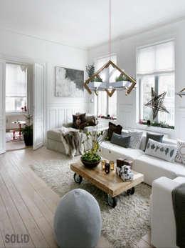 المنزل تنفيذ Solid Interior Design
