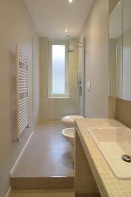minimalistic Bathroom by ministudio architetti