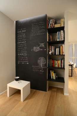 minimalistic Living room by ministudio architetti