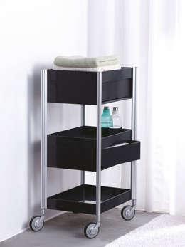 Handige opbergruimte in de badkamer