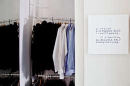 Vestidores de estilo minimalista por BARBARA BARATTOLO ARCHITETTI