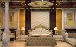 MHD Design Group – cam_05: klasik tarz tarz Yatak Odası