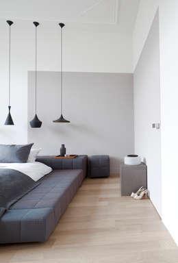 Quartos modernos por Remy Meijers Interieurarchitectuur