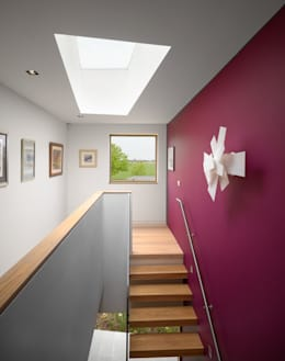 Corridor & hallway by Platform 5 Architects LLP