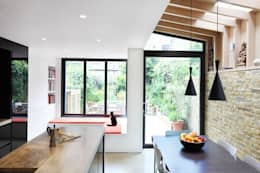 modern Dining room by Platform 5 Architects LLP