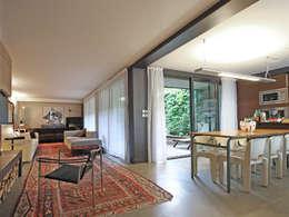Salas / recibidores de estilo moderno por BuroBonus