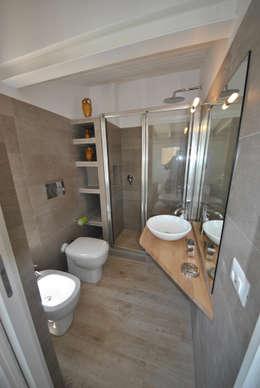 minimalistische Badkamer door Formaementis