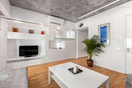 f12 Photography – 5 Flats: modern tarz Oturma Odası