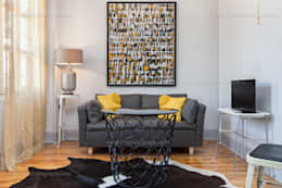 eclectic Living room by f12 Photography