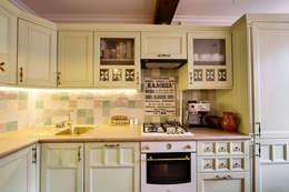 Cocinas de estilo  por Порядок вещей - дизайн-бюро