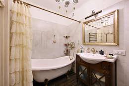 Очарование старой Москвы: Ванные комнаты в . Автор – Порядок вещей - дизайн-бюро