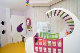 Şölen Üstüner İç mimarlık – Perçin evi: modern tarz Çocuk Odası