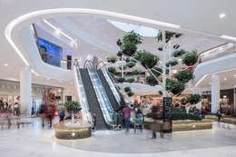 Centros comerciales de estilo  por Baierl & Demmelhuber Innenausbau GmbH