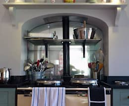 country Kitchen by Mirrorworks, The Antique Mirror Glass Company