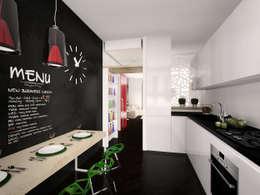 Cucina: Cucina in stile in stile Minimalista di Graziella Fittipaldi Architetto