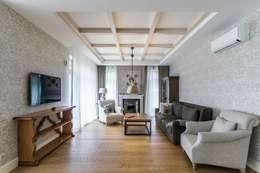 scandinavian Living room by Belimov-Gushchin Andrey