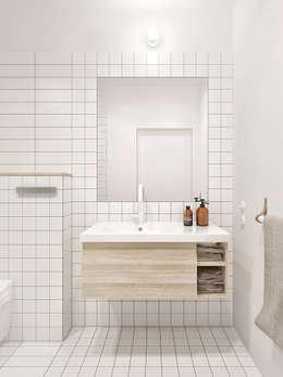 minimalistic Bathroom by INT2architecture