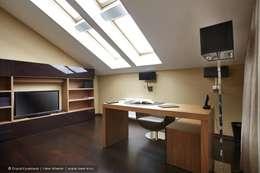 Estudios y oficinas de estilo clásico por Ольга Кулекина - New Interior