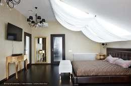 Загородный дом в коттеджном поселке «Красная горка» - 235 м² : Спальни в . Автор – Ольга Кулекина - New Interior