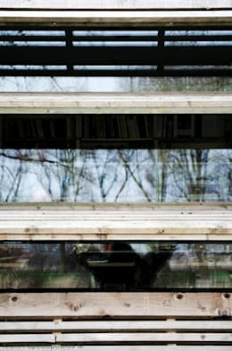 luiken: moderne Studeerkamer/kantoor door Ton Altena Architect