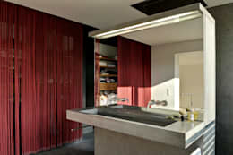 Betonwaschtisch : moderne Badezimmer von peter glöckner   architektur