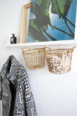 Projekty,  Garderoba zaprojektowane przez Kristina Steinmetz Design