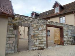 Rénovation d'une ferme en Alsace: Maisons de style de stile Rural par Atelier Laparra
