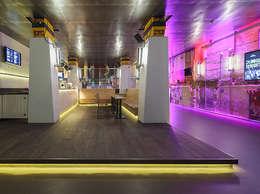 Foyer Paard van Troje Den Haag:  Gastronomie door Studio Barbara Vos