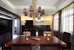 загородный дом 450 кв м: Столовые комнаты в . Автор – mill-studio.ru