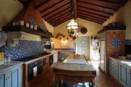 Projekty,  Kuchnia zaprojektowane przez Architetto Giuseppe Prato