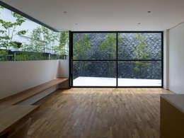 栗原隆建築設計事務所의  거실