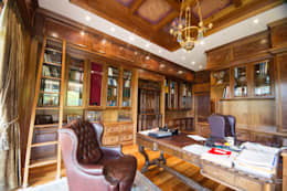 Jarradalle Home Office: classic Study/office by Liquid Interiors