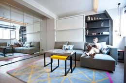 Ruang Keluarga by Black and Milk | Interior Design | London