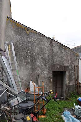 Du Sel - Réhabilitation d'un ancien garage à sel: Maisons de style de stile Rural par vincent souquet - Architecte