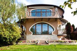modern Houses by Архитектурное бюро и дизайн студия 'Линия 8'