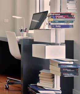 Projekty,  Domowe biuro i gabinet zaprojektowane przez URBANA 15