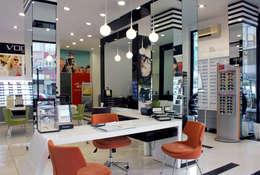 MAYER  Mimarlık – ŞANS OPTİK | İSTANBUL:  tarz Ofisler ve Mağazalar