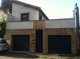 Garajes de estilo minimalista por BuroBonus