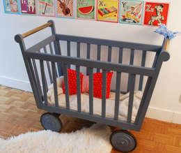 I lettini per bambini belli e sicuri for Lettini in legno per bambini