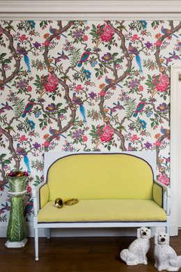 Paredes y pisos de estilo topical por Mister Smith Interiors