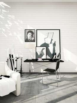 modern Living room by DesigniTures