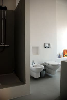 Projekty,  Łazienka zaprojektowane przez andrea nicolini architetto